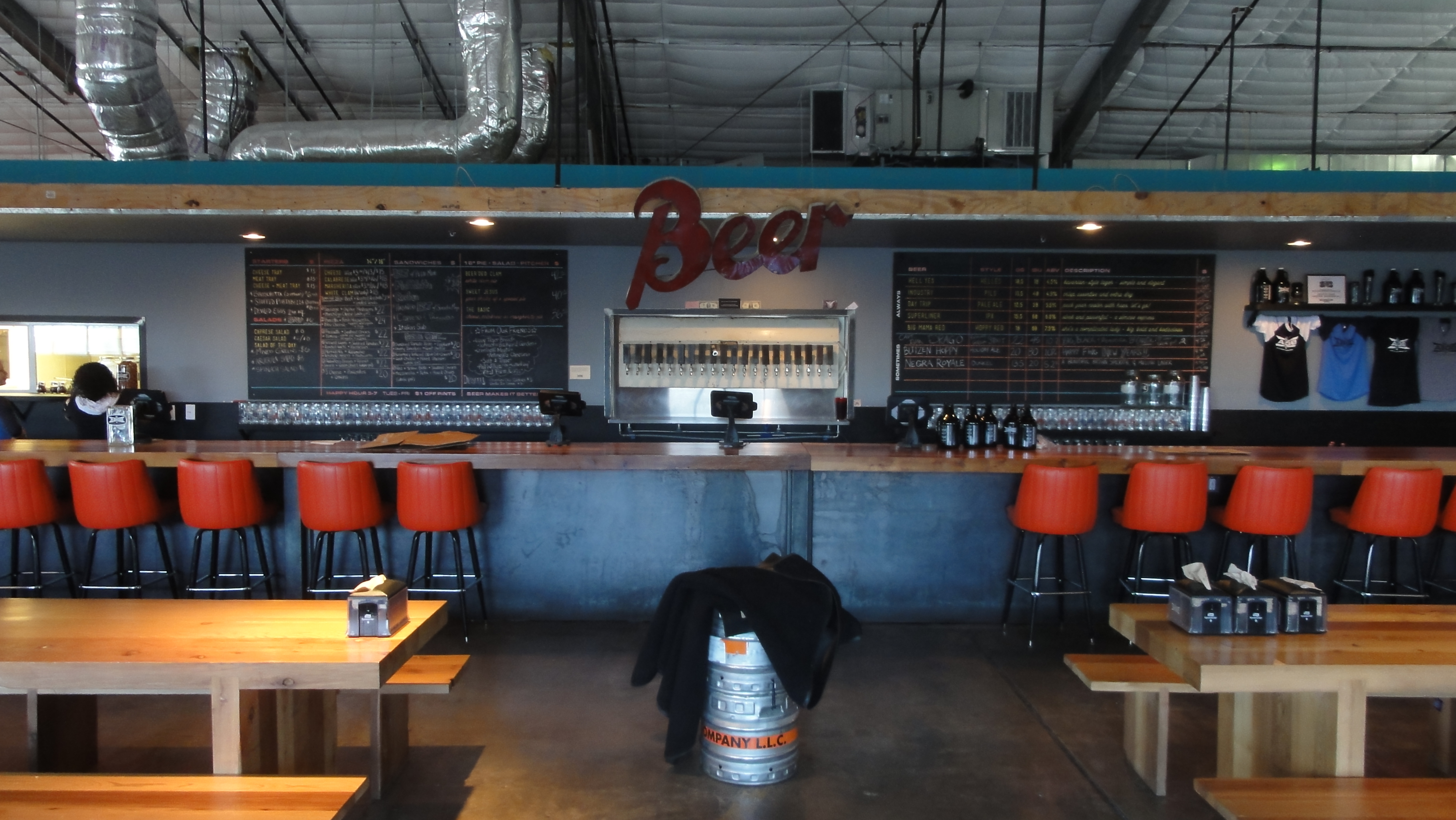 ABGB Austin Beer Garden Brewing Co in Austin TX