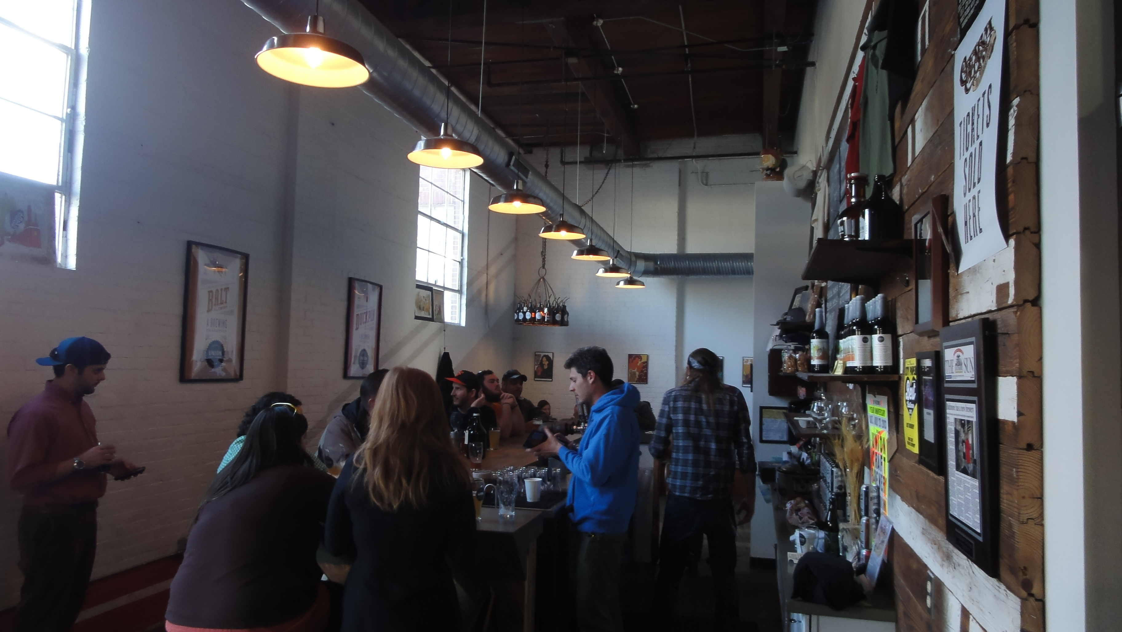 84 union craft brewing in baltimore md brews for Union craft brewing baltimore md