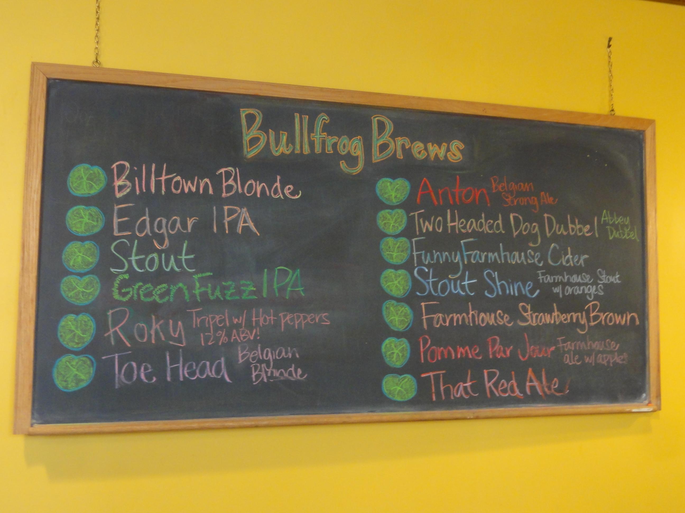 114 Bullfrog Brewery In Williamsport Pa Brews